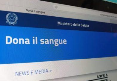 """Online il portale """"Dona il sangue"""" del Ministero della Salute e CNS"""