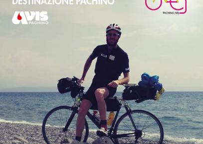 Si conclude a Pachino l'impresa su 2 ruote di Marco Toppan