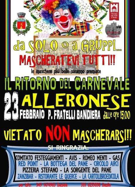 Carnevale Alleronese!!